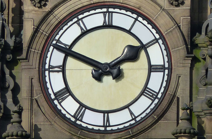 Bolton Town Hall Clock