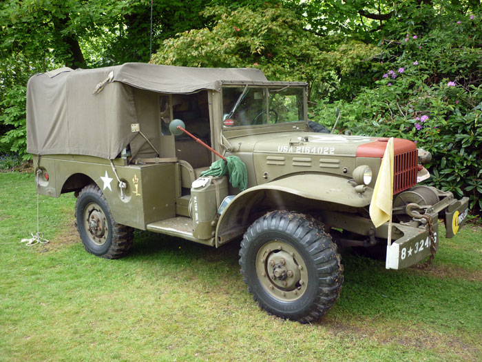 US Army Dodge Truck, Turton Tower