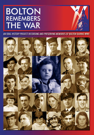 A5 Bolton Remembers the War booklet cover